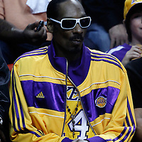10 March 2011: Rapper and actor Snoop Dogg is seen during the Miami Heat 94-88 victory over the Los Angeles Lakers at the AmericanAirlines Arena, Miami, Florida, USA.