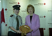 2004 - Presentation of President's Awards to the Irish Red Cross by President Mary McAleese