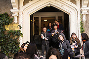 SAN FRANCISCO, CA – APRIL 18, 2015: Founding class sophomores welcome a new class of incoming freshman during Ascent Weekend at Minerva.<br /> <br /> Minerva is a unique 21st century university built on a global four-year education model. It is deliberately designed to enhance intellectual growth and prepare students for success in today's rapidly changing global context. Founded in 2014, the university targets the developing world's rising middle class who seek an elite American education. With a 2.8% acceptance rate among the founding class, Minerva is the most selective undergraduate program in U.S. history.