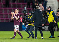 Football - 2019 / 2020 William Hill Scottish Cup - Quarter-Final: Heart of Midlothian vs. Rangers<br /> <br /> Oliver Bozanic of Hearts at full time, at Tynecastle Park, Edinburgh.<br /> <br /> COLORSPORT/BRUCE WHITE