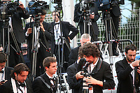World press at at The Paperboy gala screening red carpet at the 65th Cannes Film Festival France. Thursday 24th May 2012 in Cannes Film Festival, France.