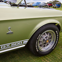 1968 Shelby Mustang GT500 Convertible in the Shelby Paddock at the 2012 Santa Fe Concorso.
