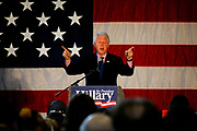 Former President Bill Clinton campaigns in Lakewood for his wife Hillary Rodham Clinton, who is running against Obama as the Presidential Candidate for 2009.