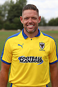 AFC Wimbledon goalkeeping coach Ashley Bayes during the AFC Wimbledon 2018/19 official photocall at the Kings Sports Ground, New Malden, United Kingdom on 31 July 2018. Picture by Matthew Redman.