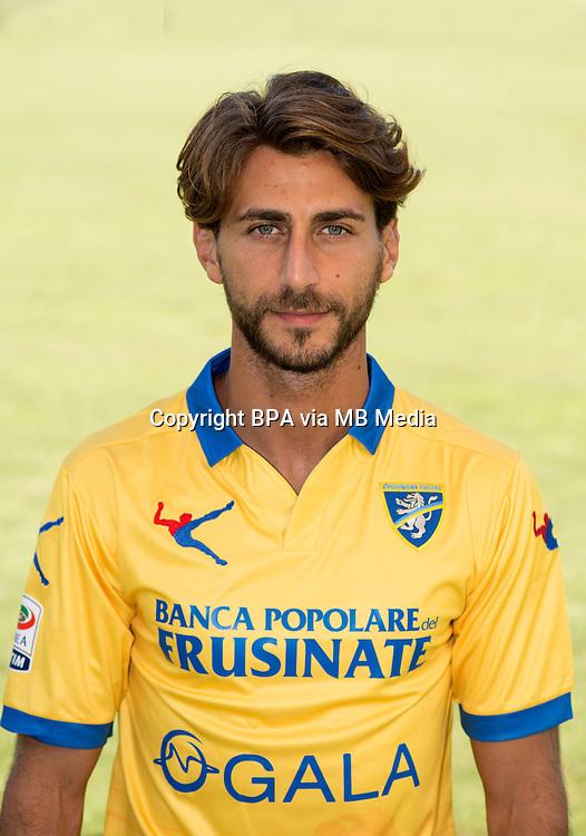 Italian League Serie A -2015-2016 / <br /> ( Frosinone Calcio ) - <br /> Adriano Russo