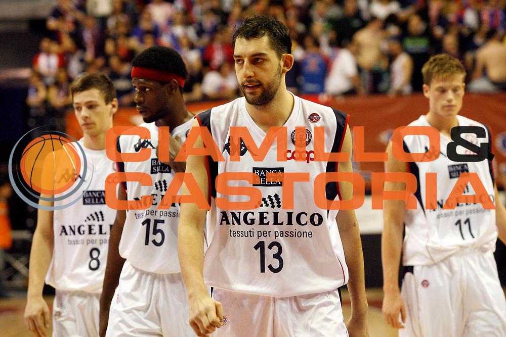 DESCRIZIONE : Biella Lega A1 2008-09 Angelico Biella NGC Cantu<br /> GIOCATORE : Squadra Team<br /> SQUADRA : Angelico Biella<br /> EVENTO : Campionato Lega A1 2008-2009 <br /> GARA : Angelico Biella NGC Cantu  <br /> DATA : 05/04/2009 <br /> CATEGORIA : Ritratto<br /> SPORT : Pallacanestro <br /> AUTORE : Agenzia Ciamillo-Castoria/E.Pozzo <br /> Galleria : Lega Basket A1 2008-2009 <br /> Fotonotizia : Biella Campionato Italiano Lega A1 2008-2009 Angelico Biella NGC Cantu<br /> Predefinita :