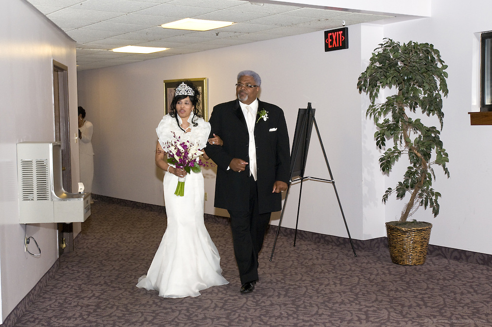 The Nov. 12, 2011 wedding of Bedeliah Sanford and Wayne Edelen at Canaan Christian Church in Louisville, Ky. (Photo by Brian Bohannon)