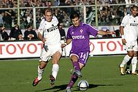 Firenze 7-11-2004<br /> Campionato di calcio Serie A 2004-05<br /> Fiorentina Inter<br /> nella  foto Cambiasso (s) e Maresca<br /> Foto Snapshot / Graffiti