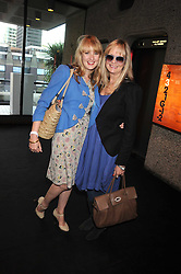 Left to right, CARLY WITNEY and her mother model TWIGGY LAWSON at the opening of 'The House of Viktor & Rolf' an exhibtion of designs by Viktor & Rolf held at The Barbican Art Gallery, Silk Sytreet, London on 17th June 2008.<br /><br />NON EXCLUSIVE - WORLD RIGHTS