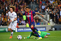 Goal NEYMAR JR / Salvatore SIRIGU / David LUIZ - 21.04.2015 - Barcelone / Paris Saint Germain - 1/4Finale Retour Champions League<br />