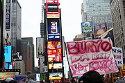 Atmosphere at The National Day of Outrage sponsored by The National Action Network and Rev. Al Sharpton on November 23, 2009 in Times Square in New York City. Terrence Jennings/Retna, Ltd..The National Day of Outrage calls attention to the daily violence which occurs in the inner cities of the United States, and promotes strategies to stop the violence and provide new directions to positive growth through economic empowerment and sustainable role models.