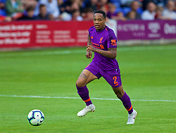BIRKENHEAD, ENGLAND - Tuesday, July 10, 2018: Liverpool's Nathaniel Clyne during a preseason friendly match between Tranmere Rovers FC and Liverpool FC at Prenton Park. (Pic by Paul Greenwood/Propaganda)