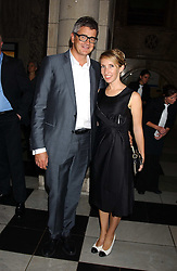 JAY JOPLING and his wife SAM TAYLOR-WOOD at the opening of a new exhibition 'Diane Arbus Revelations' a major retospective of the Legendary New York Photographer at the V&A museum on 11th October 2005.<br /><br />NON EXCLUSIVE - WORLD RIGHTS