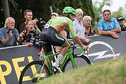 02.07.2017, Graz, AUT, Ö-Tour, Österreich Radrundfahrt 2017, 1. Etappe, Prolog, im Bild Florian Gaugl (AUT, Hrinkow Advarics Cycleang Team) // Florian Gaugl (AUT, Hrinkow Advarics Cycleang Team) during Stage 1, Prolog of 2017 Tour of Austria. Graz, Austria on 2017/07/02. EXPA Pictures © 2017, PhotoCredit: EXPA/ Reinhard Eisenbauer