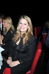 """DAISY BUNN at a party to promote the """"American Songbook in London"""" aseries of intimate concerts featuring 1959 Broadway songs, held at Pizza on The Park, Hyde Park Corner, London on 18th March 2009."""