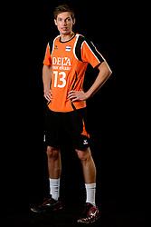25-04-2013 VOLLEYBAL: NEDERLANDS MANNEN VOLLEYBALTEAM: ROTTERDAM<br /> Selectie Oranje mannen seizoen 2013-2014 / Maarten van Garderen<br /> ©2013-FotoHoogendoorn.nl