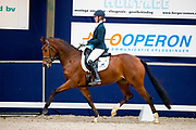 Sanne Vos - Lastrella<br /> Young Dressage Talents 2019<br /> © DigiShots