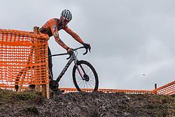 VAN DER POEL Mathieu (NED) during Men Elite race, 2020 UCI Cyclo-cross Worlds Dübendorf, Switzerland, 2 February 2020. Photo by Pim Nijland / Peloton Photos | All photos usage must carry mandatory copyright credit (Peloton Photos | Pim Nijland)