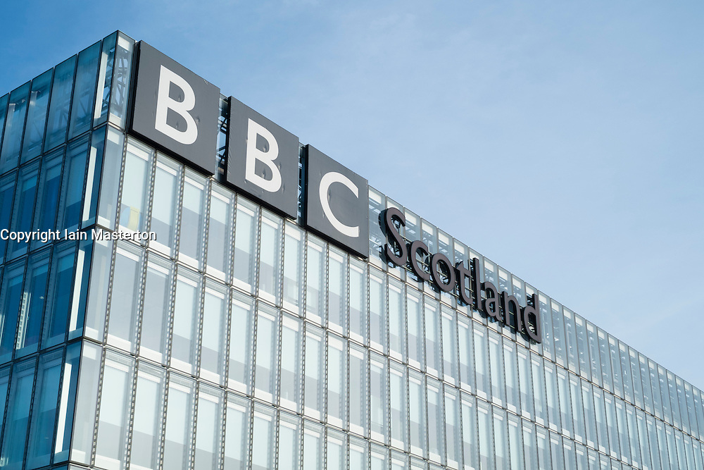 Headquarters of BBC Scotland in Glasgow