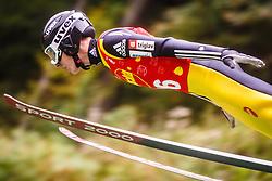 Timi Zajc during national competition in Ski Jumping, 8th of October, 2016, Kranj,  Slovenia. Photo by Grega Valancic / Sportida