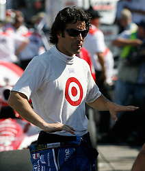 The 2009 Rexall Edmonton Indy Race  ..24-26 /07/09.. Scotland's Dario Franchitti who races for Chip Ganassi Racing, during  this weekends Qualifiying for the 2009 Rexall Indy Championship Race.  Dario is Married to American Actress Ashley Judd and was born in Bathgate West Lothian. He also won the 2007 BBC Scotland Sports Personality Of The Year Award after his Indy 500 victory...Picture by Mark Davison/ Universal News & Sport