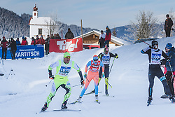 20.01.2019, Loipe Obertilliach, AUT, 45. Dolomitenlauf, Freestyle, im Bild Maria Graefnings (SWE, 42km) // during the 45th Dolomitenlauf Freestyle race at Obertilliach, Austria on 2019/01/20, EXPA Pictures © 2019 PhotoCredit: EXPA/ Dominik Angerer