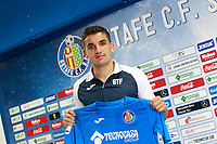 Getafe CF's new player Mauro Arambarri during his official presentation.  August 10, 2017. (ALTERPHOTOS/Acero)