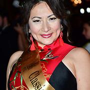 Jenet Ho the Classic Miss Dorset 2020 Arrivers at Gold Movie Awards at Regents Street Theatre, on 9th January 2020, London, UK