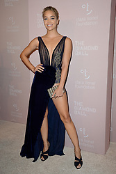September 13, 2018 - New York, NY, USA - September 13, 2018  New York City..Jasmine Sanders attending the 4th Annual Clara Lionel Foundation Diamond Ball on September 13, 2018 in New York City. (Credit Image: © Kristin Callahan/Ace Pictures via ZUMA Press)