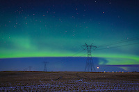 February 28, 2015 - The Northern Lights lit up the sky in Calgary and were clearly visible to the naked eye. It was a beautiful show!<br /> <br /> &copy;2015, Sean Phillips<br /> http://www.RiverwoodPhotography.com