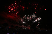 Mannheim. 29.07.17 | ID 062 |<br /> Maimarktgel&auml;nde. Pyrogames. Feuerwerker in vier Teams z&uuml;nden ihre Feuerwerkchoreografien ab und lassen sich vom Publikum bewerten. <br /> <br /> Bild: Markus Pro&szlig;witz 29JUL17 / masterpress