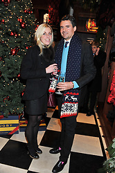 EDWARD TAYLOR and ANTONIA BARCLAY at a party hosted by TLC to celebrate signing their 5000th member and Ralph Lauren to celebrate the opening of the first Ralph Lauren Rugby store in the UK at 43 King Street, Covent Garden, London on 30th November 2011.