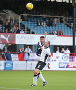Kane Hemmings heads home Dundee's second goal - Dundee v St Johnstone at Dens Park <br /> - Ladbrokes Premiership<br /> <br />  - &copy; David Young - www.davidyoungphoto.co.uk - email: davidyoungphoto@gmail.com