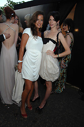 Left to right, JADE JAGGER and LIBERTY ROSS at the annual Serpentine Gallery Summer Party in association with Swarovski held at the gallery, Kensington Gardens, London on 11th July 2007.<br /><br />NON EXCLUSIVE - WORLD RIGHTS