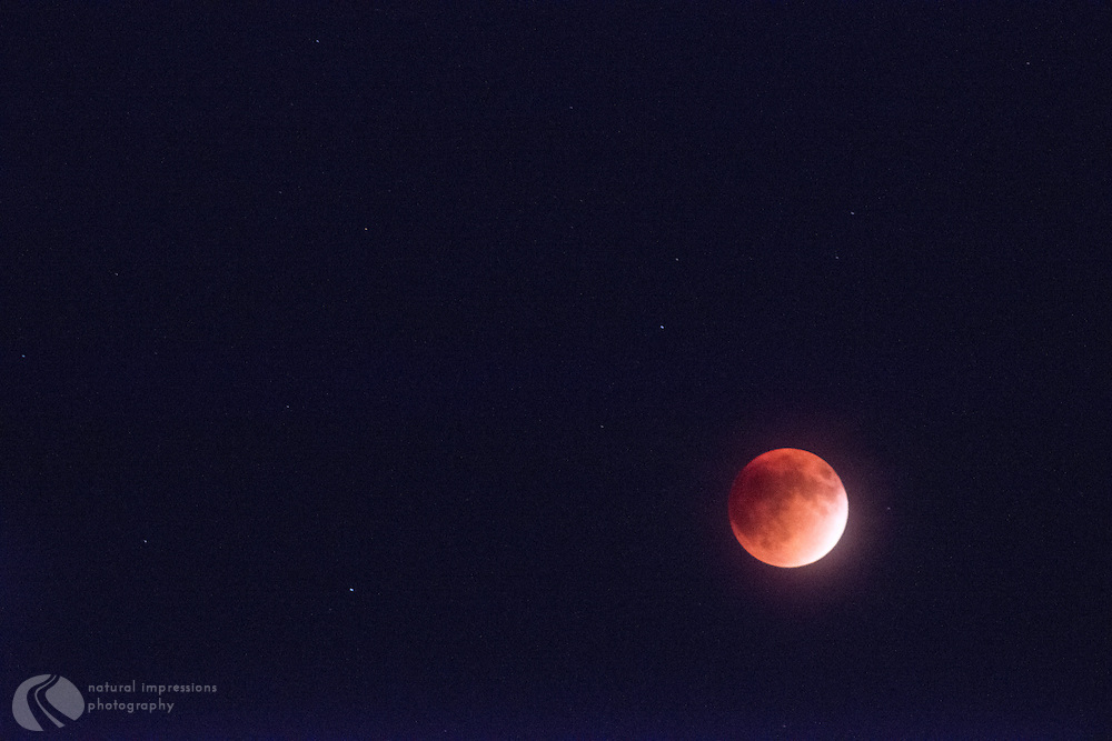 Red Moon; Red Moon 2015; Red Moon october 2015; teton national park