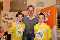 at the Eason Spelling Bee in the Hotel Meyrick, Galway from where Ryan Tubridy's  show was broadcast . Photo:Andrew Downes..