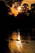 Sao Paulo_SP, Brasil...Entardecer no Parque do Ibirapuera...The dusk in Ibirapuera Park...Foto: MARCUS DESIMONI / NITRO
