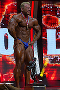 March 1, 2014 - Columbus, Ohio, U.S - <br /> <br /> Bodybuilding 2014 - Arnold Classic<br /> <br /> DENNIS WOLF poses for photographers after winning the 2014 Arnold Classic at the Arnold Sports Festival in Columbus, Ohio. <br /> ©Exclusivepix