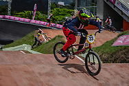 #33 (GEORGE Danielle) USA at the 2016 UCI BMX World Championships in Medellin, Colombia.