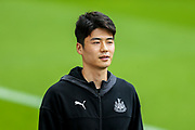 Ki Sung-Yueng (#4) of Newcastle United arrives ahead of the Premier League match between Newcastle United and Watford at St. James's Park, Newcastle, England on 31 August 2019.