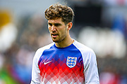 England defender John Stones (Manchester City) during the UEFA Nations League 3rd place play-off match between Switzerland and England at Estadio D. Afonso Henriques, Guimaraes, Portugal on 9 June 2019.