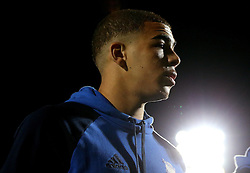 Che Adams of Birmingham City arrive at the Pirelli Stadium for the fixture with Burton Albion - Mandatory by-line: Robbie Stephenson/JMP - 21/10/2016 - FOOTBALL - Pirelli Stadium - Burton upon Trent, England - Burton Albion v Birmingham City - Sky Bet Championship