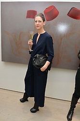 MARIA GRACHVOGEL at the launch of a new exhibition 'Le Tarbouche' by French-Lebanese artist Mouna Rebeiz held at The Saatchi Gallery, Duke of York's HQ, King's Road, London on 26th February 2015.