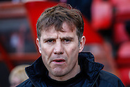 Phil Parkinson , Manager of Bradford City looks on before the Sky Bet League 1 match at the Matchroom Stadium, London<br /> Picture by David Horn/Focus Images Ltd +44 7545 970036<br /> 29/03/2014