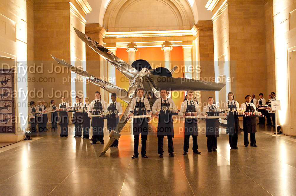 Private view for the Turner prize exhibition. Tate Britain. London. 4 October 2010. -DO NOT ARCHIVE-© Copyright Photograph by Dafydd Jones. 248 Clapham Rd. London SW9 0PZ. Tel 0207 820 0771. www.dafjones.com.