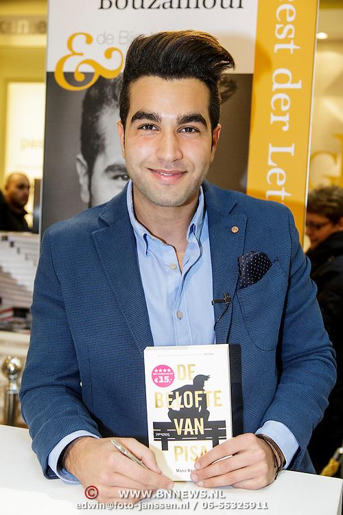 NLD/Amsterdam/20150228 - Feest der Letteren 2015, Mano Bouzamour