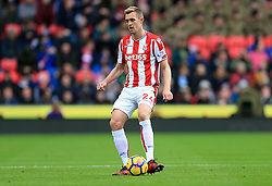 Darren Fletcher of Stoke City - Mandatory by-line: Paul Roberts/JMP - 04/11/2017 - FOOTBALL - Bet365 Stadium - Stoke-on-Trent, England - Stoke City v Leicester City - Premier League