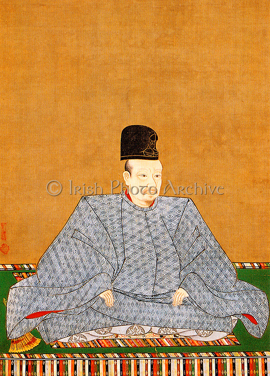 Emperor Go-Yozei 1572-1617 107th emperor of Japan,  reigned 1586 to 1611