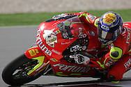 Spain's Jorge Lorenza finishes first in the 250cc, MOTO GP, Commercial Bank Grad Prix, Losail International Circuit, 8 Apr 06