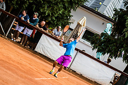 The athletes during the Tennis tournament for amateurs organized by Tenis Slovenija, on September 16, 2018 in Teniski Klub Branik, Maribor, Slovenia. Photo Credit Grega Valancic